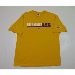 Vintage Nike L Los Angeles Lakers Center Swoosh